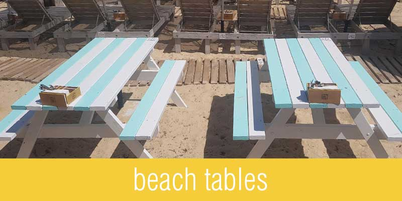 Beach Tables