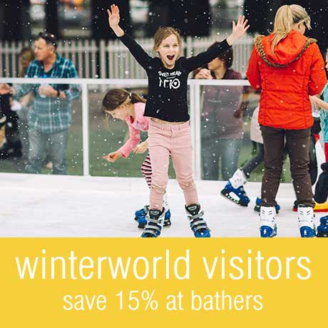 Save 15% with your Winterworld Ticket